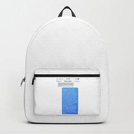 SHANGELA SUGAR DADDY TEXT Backpack