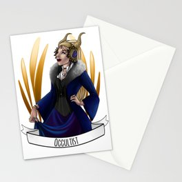 Steampunk Occupation Series: Occultist Stationery Cards