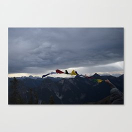 Throwing Colors to the Wind, Pt. 2 - Winchester Mountain, Washington State Canvas Print