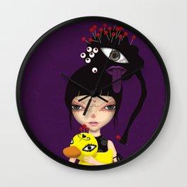 voodoo dolls Wall Clock