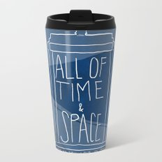 All Of Time And Space Metal Travel Mug