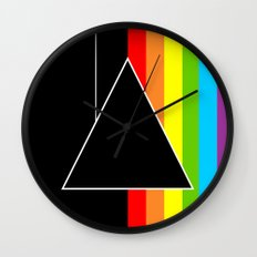 Tribute Pink Floyd | Dark Side Of The Moon Wall Clock