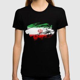 Iran Flag T Shirt T-shirt