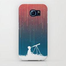 Meteor Rain (light version) Slim Case Galaxy S7