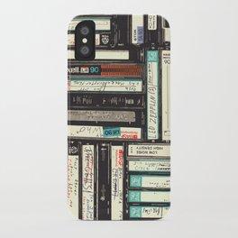 Cassettes iPhone Case