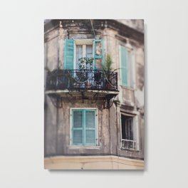 New Orleans - Close Your Eyes and Dream Metal Print