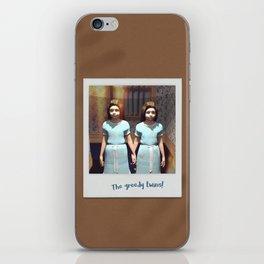The greedy twins! iPhone Skin