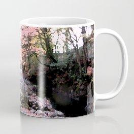 Woodland springtime, rippling stream Coffee Mug