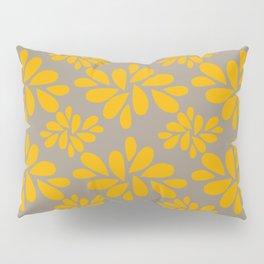 Golden Petals Pillow Sham