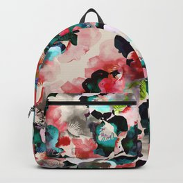 Vibrant flower garden Backpack