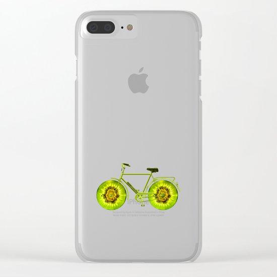 Kiwi Bike Clear iPhone Case