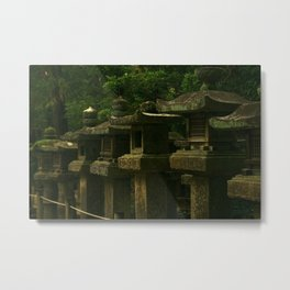 nara laterns II Metal Print