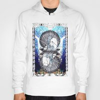 aquarius Hoodies featuring Aquarius by Caroline Vitelli GOODIES