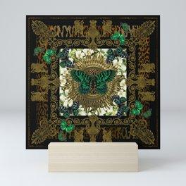 Baroque Butterflies Mini Art Print