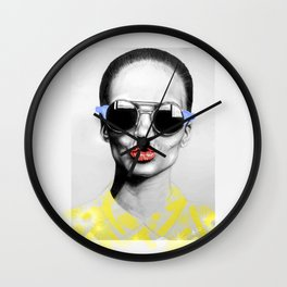 + SMOKE AND MIRRORS PRIMARY + Wall Clock