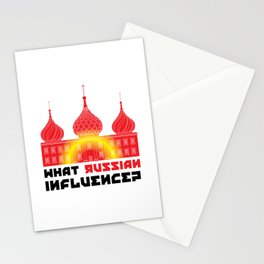 What Russian Influence? Stationery Cards