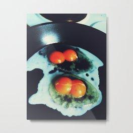 Double Yolk I Metal Print