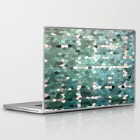 emerald Laptop & iPad Skins featuring Emerald  by ixbalanque