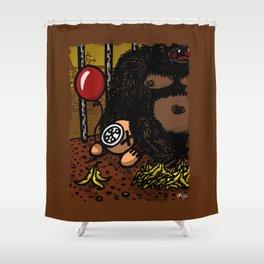 La cage du gorille Shower Curtain