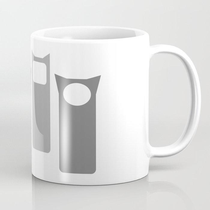 Grey Four Coffee Mug
