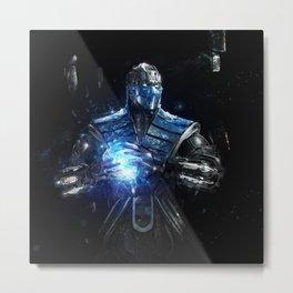 Sub-Zero Metal Print