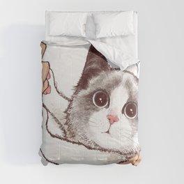Cat : Don't kiss Comforters