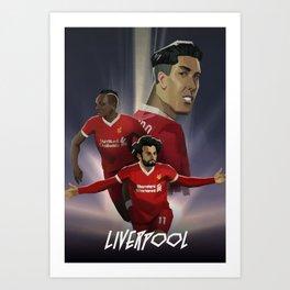 Liverpool - Football Movie Poster Art Print
