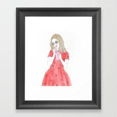Milk-shake Time Framed Art Print