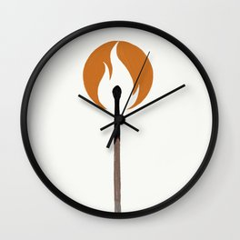 Say Anything - Burn A Miracle Wall Clock