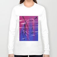 tangled Long Sleeve T-shirts featuring Tangled by Ordiraptus