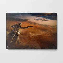 RAINBOW SIX Metal Print