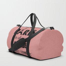 Paris is always a good idea Duffle Bag