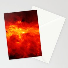 The Painted Space Lava Stationery Cards
