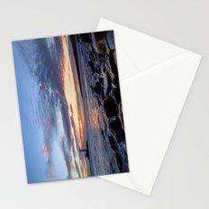 Sunrise at St Mary's Lighthouse Stationery Cards