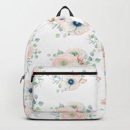 Dog Rose Pattern 2 Backpack