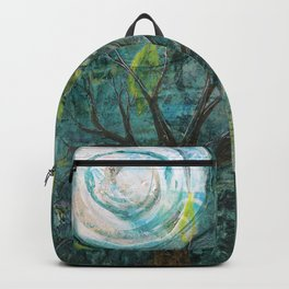 Stormy night Backpack