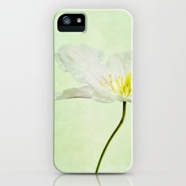 A FLOWER II iPhone Case
