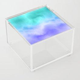 Blue Abstract Sky Acrylic Box