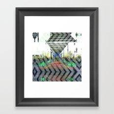 Ornate haste gyp judge. Framed Art Print