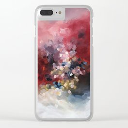MORE - An abstract acrylic painting, flowing movement. Clear iPhone Case