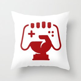 Console & Gamer Throw Pillow