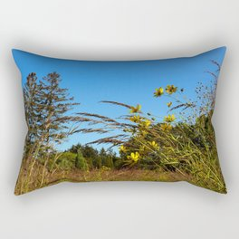 Tranquil Field Rectangular Pillow