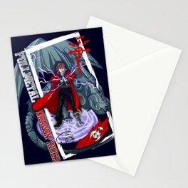 Fullmetal Dragon Rider Stationery Cards