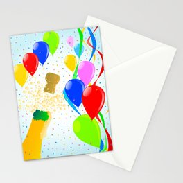 Balloon Party Stationery Cards