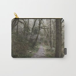 Frosty Forest Path Carry-All Pouch