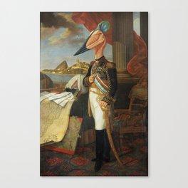 The Tyrant Tupuxuara Canvas Print