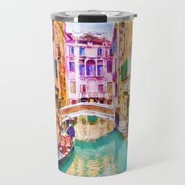 Venice Canal 2 Travel Mug