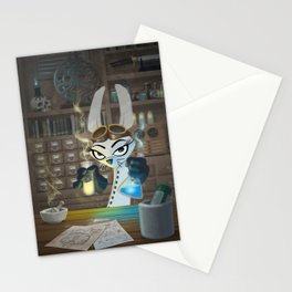 The Lair of the Dark Bunny Stationery Cards
