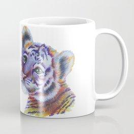 Colorful Tiger Cub Coffee Mug