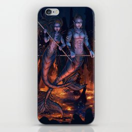 Warriors of the Deep iPhone Skin